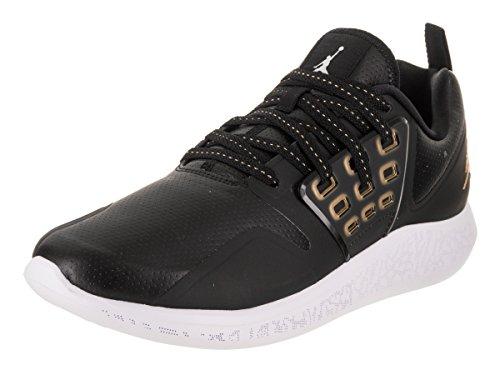 Jordan Nike Men's Grind Black/Metallic Gold White Training Shoe 13 Men US by Jordan