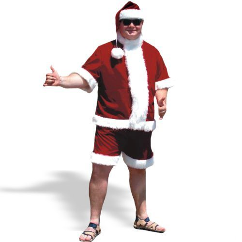 Sunny Claus Suit Set - Large - Chest Size 42-48