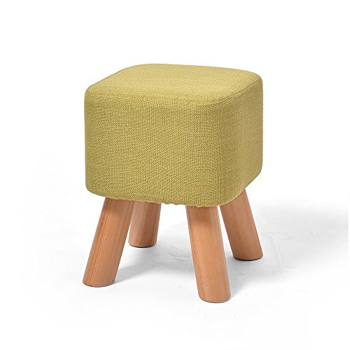 ZZHF dengzi Creative Cloth Footstool/Changing His Shoes Stool/Bench Solid Wood Sofa Stool (6 Sizes Optional) (Color : C, Size : 2935cm) by Zhuihui stool