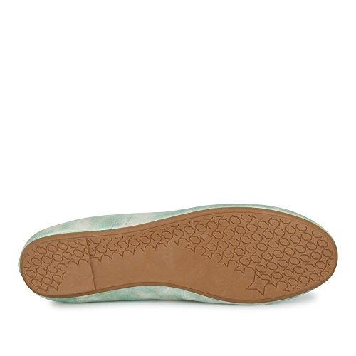 Verde verde Fitters Footwear Ballerine donna wqxfZzR7