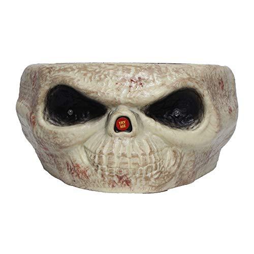 Transer Fruit Bowl, Halloween Decorations Nut Bowls Dish Basket with Jumping Skull Hand Halloween Decor Supplie (Beige) by Transer- (Image #4)