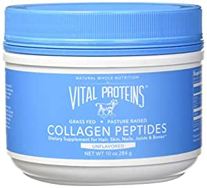 Vital Proteins Pasture-Raised, Grass-Fed Collagen Peptides - Hydrolyzed, Paleo, Keto, Whole30, Gluten-Free