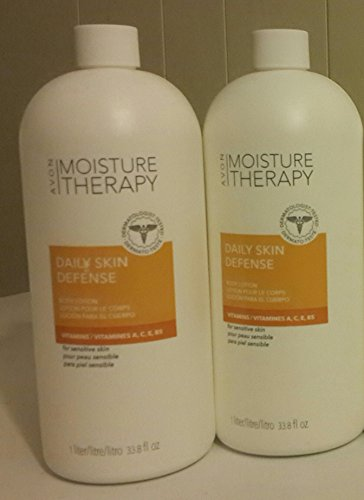 Avon Moisture Therapy Daily Skin Defense Lot of 2 ()