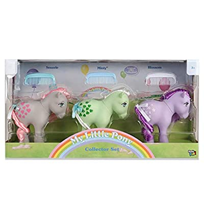 My Little Pony 35266 My Retro Collector 3 Pack: Cotton Candy, Butterscotch, Blue Belle, Multicolour: Toys & Games