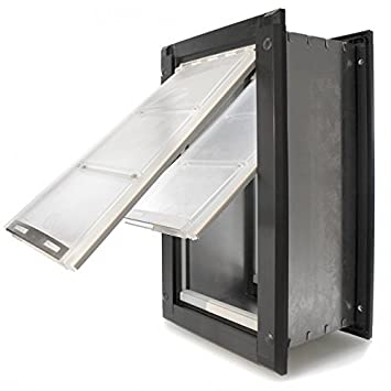Amazon Endura Flap Double Flap Wall Mount Pet Door Large