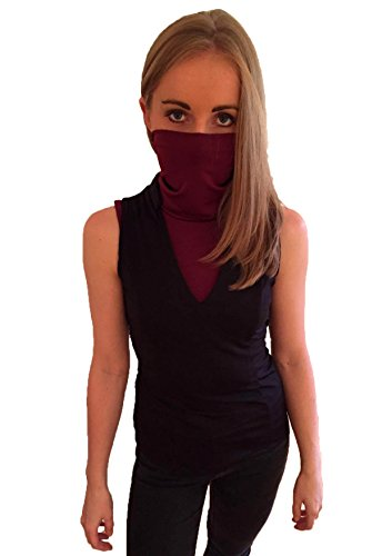 Elektra Costume For Women (Masked Assassin Top (L))
