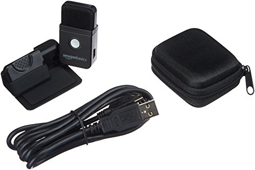 AmazonBasics - Microfono portatile USB a condensatore 5 spesavip