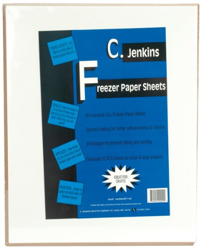 Freezer Paper Sheets -12''X15'' 40/Pkg 1 pcs sku# 644468MA by Jenkins