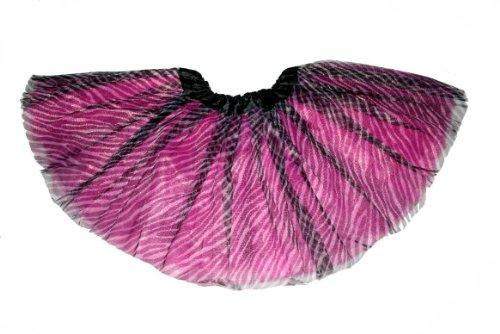 Zebra Tutu (Adult Teens Ballet Tutu Skirt By