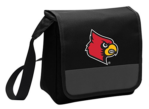 Broad Bay University of Louisville Lunch Bag Shoulder Louisville Cardinals Lunch Box (Louisville Cardinals Lunch)