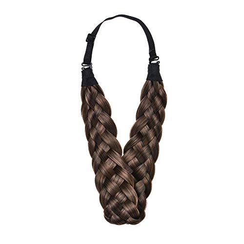 Headband Synthetic Multi Color Headwear Brownish