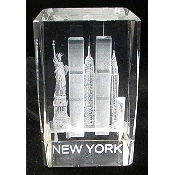 Amazon.com: New York Souvenir NYC Skyline - Pesa de papel de ...