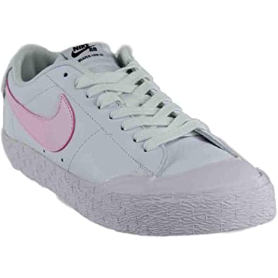 reputable site 87edb 4d082 Nike SB Blazer Zoom Low XT Sneakers White Prism Pink Mens 10