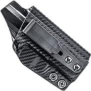 Concealment Express Tuckable IWB KYDEX Holster fits: Glock 17/19/22/23/26/27/31/32/33 (Gen 1-5) (CF BLK, ULTI)