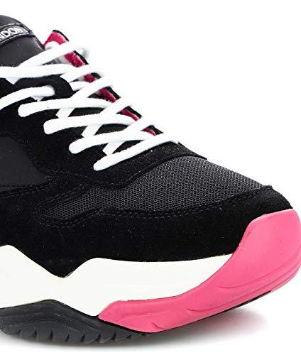 Tela Crime London Mujer 258539120 Zapatillas Negro rprIg4wyq