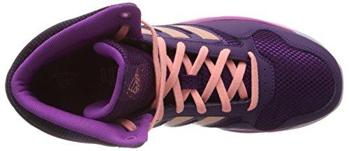 Fille Mid tribe Adidas Violett Violet Chaussures Glow K Dance Vivid Danse De Coral S13 Purple S14 Pink qCCRgwY