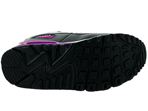 Nike Air Max 90 2007 Ps 345018_Wildleder Unisex-Kinder High-Top Sneaker Mehrfarbig