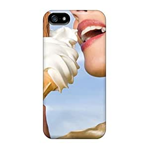 Cynthaskey Design High Quality Ice Cream Cover Case With Excellent Style For Iphone 5/5s