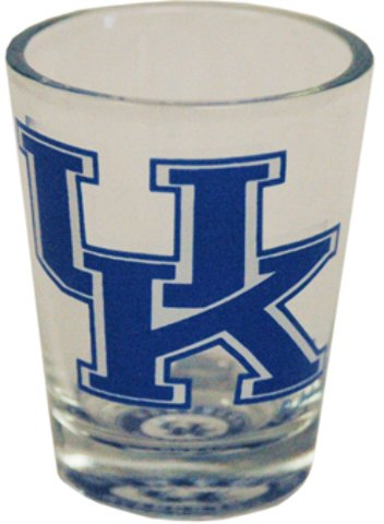 Game Day Outfitters NCAA Kentucky Wildcats Bullseye Bottom Shotglass, One Size, Multicolor