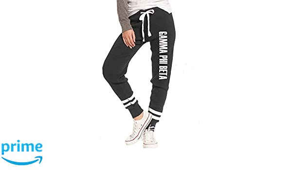 aba272fab6 Sorority Letters Shop Gamma Phi Beta Thermal Joggers at Amazon Women's  Clothing store: