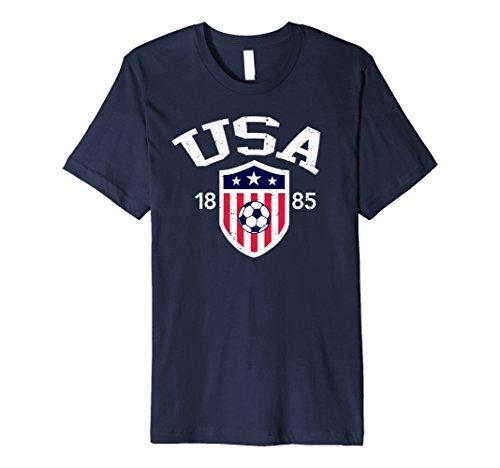 Us Soccer T-shirts (Vintage USA Soccer T-shirt)