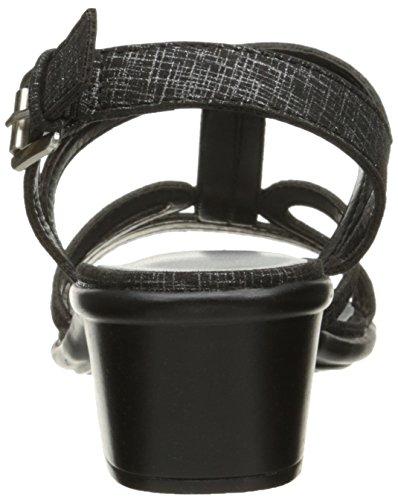 Easy Street Women's Britney Dress Sandal Black/Metallic Print iB40dkDSz