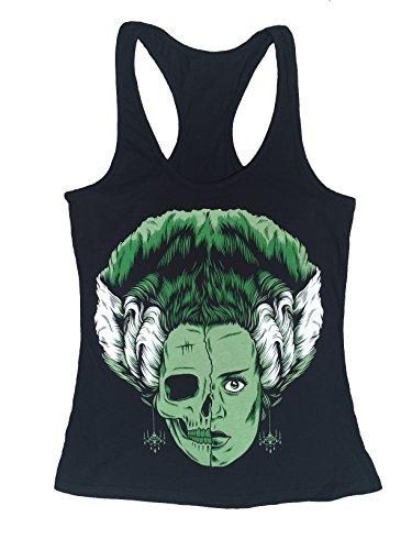 Bride of Frankenstein Monster Movie Women's Halloween T-Shirt S - 2XL IN STOCK READY TO SHIP (2XL)