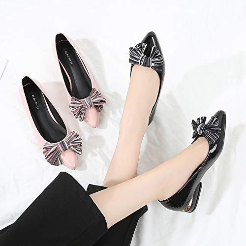 Noir Chaussures ZHRUI 40 Noir Taille coloré EU EHqq8