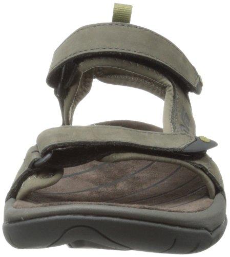 Teva Tanza Leather Ms Herren Sport- & Outdoor Sandalen Braun (646 walnut)