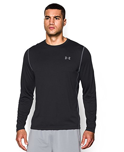 Under Armour Men's UA Tech Long Sleeve T-Shirt Small Black