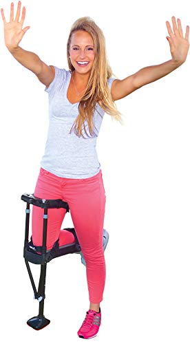 iWALK2.0 Hands Free Knee Crutch – Alternative for Crutches and Knee Scooters – by iWALKFree