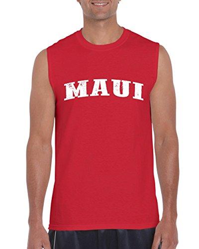 Ugo Maui Hawaii Travel Guide Flag What to do in Hawaii? Beaches Near Me Hawaiian Ultra Cotton Sleeveless Men's - Baby Beach Maui In