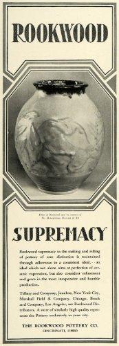 1929 Ad Rookwood Pottery Vase Decorative Household Garden Decor Cincinnati Ohio - Original Print Ad from PeriodPaper LLC-Collectible Original Print Archive