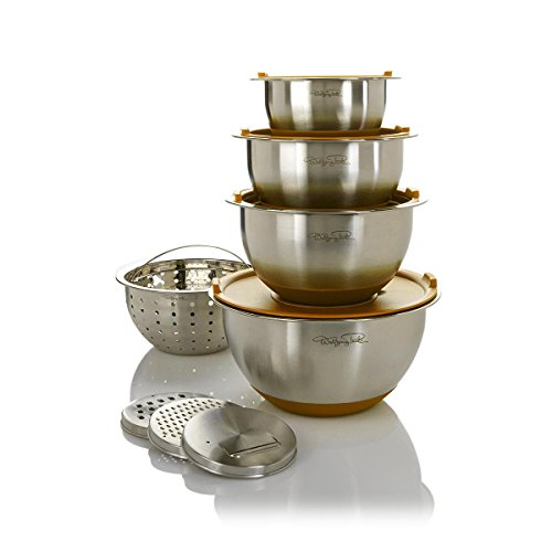 Wolfgang Puck Bistro Elite 12-piece Stainless Steel Mixing Bowl and Prep Set by Wolfgang Puck