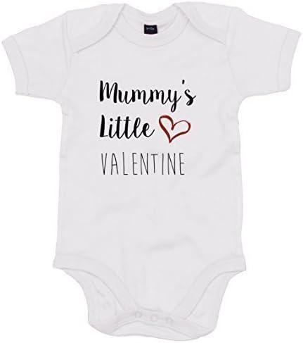 Mummy is My Valentine Valentines Day GiftCute Baby//Newborn Vest//Bodysuit