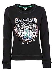 Kenzo Women S F952sw7054xa99 Black Cotton Sweatshirt