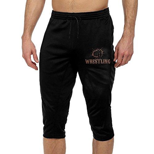 BigManPants Fist Wrestling Vintage Exercise Male Vintage Casual Durable French Terry Lounge Pants by BigManPants