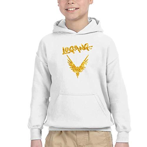 Logan Paul Golden Parrot Kids Hip Hop Sweater Hoodie Sweatshirts,White,5/6T ()