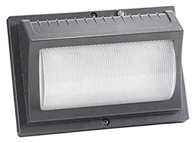Honeywell ME022051-82 2000 lm LED Security Wall Light, Titanium Gray