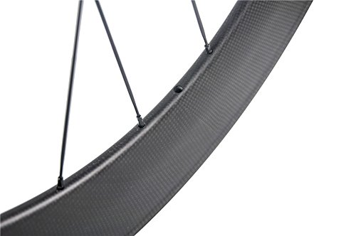 Sunrise Bike 88mm Wheelset Clincher 700c Carbon Cyclocross Rim for Road Bicycle 23mm Width