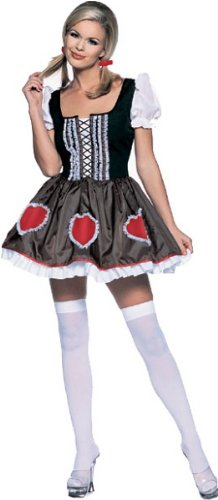Heidi Ho Costume - Plus Size 1X/2X - Dress Size 16-20