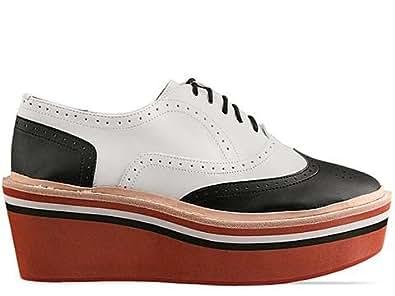 DV8 by Dolce Vita The Frankee Shoe in Black and White Stella,9.5,Black & White