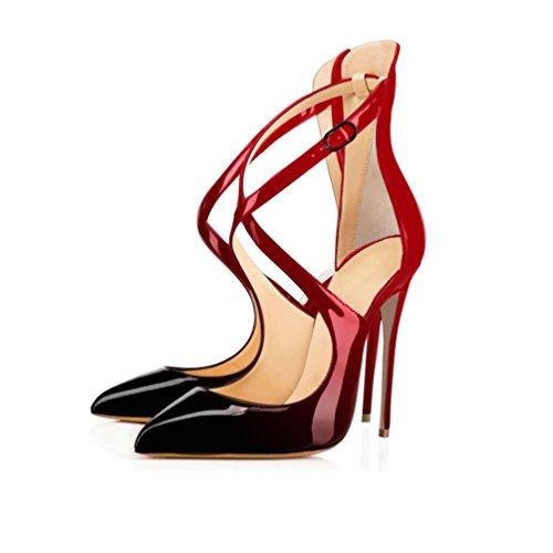 EDEFS - Tira de tobillo Mujer Rojo