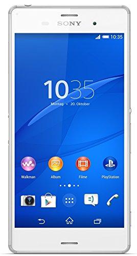 """17 opinioni per Sony Xperia Z3 4G 16GB White- Smartphones (13.2 cm (5.2""""), 16 GB, 20.7 MP,"""