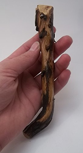 western-sagebrush-wood-knife-wand-handle-hand-sanded-tung-oil-finish-h51