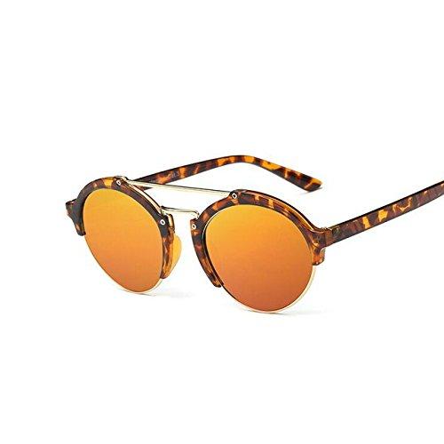 soleil de TM pour ronde Tocoss femmes Lunettes Designer de homme Red Shades soleil fête Mode rétro Eyewear Lunettes Nouveaux Marque Leopard pour femme Lunettes fqZwdqax