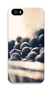 blueberry PC Case Cover for iPhone 5 and iPhone 5s 3D