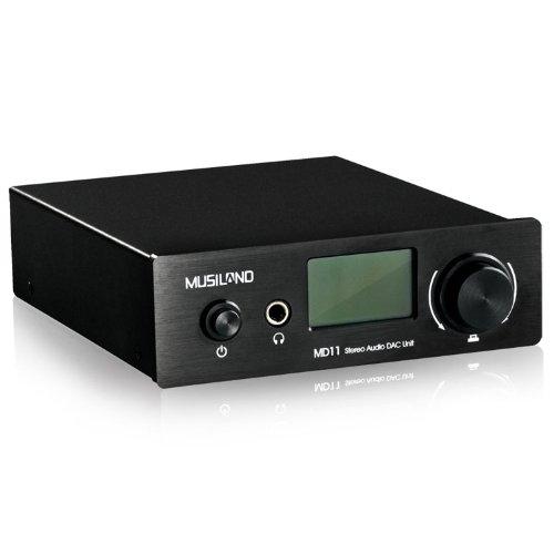 Musiland MD11 Digital Audio Decoder DAC 24Bit/192KHz USB Sound Card Support COA/OPT/USB - Opt Usb