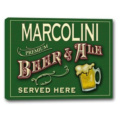 marcolini-beer-ale-stretched-canvas-sign