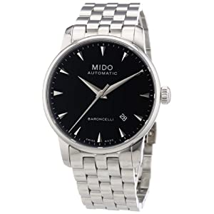 Mido Men's MIDO-M86004181 Baroncelli Analog Display Swiss Automatic Silver Watch